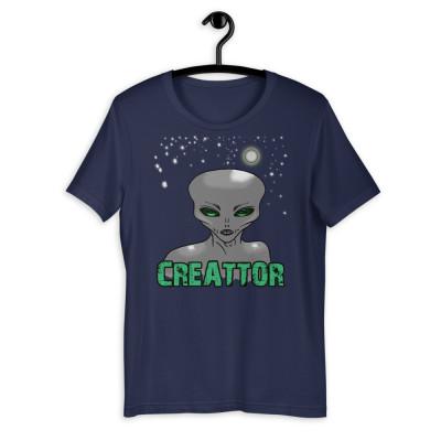 Camiseta manga corta unisex - CREATTOR / SUERTE CERO