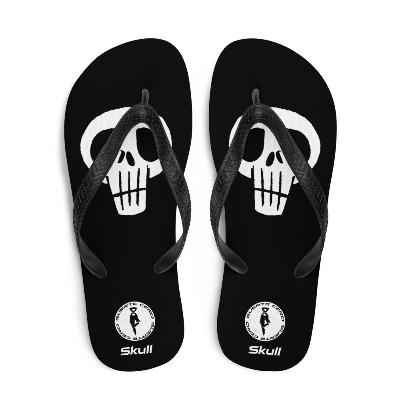 Chanclas - Skull / SUERTE CERO