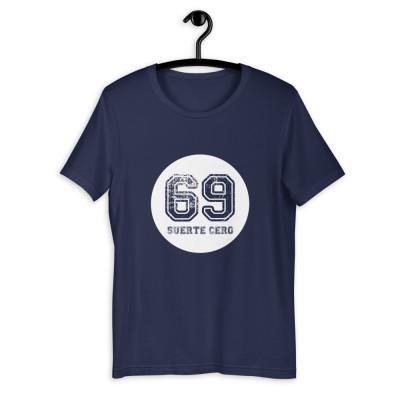 Camiseta manga corta unisex - n69 colors / SUERTE CERO