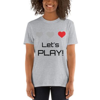 Camiseta - Lets play / SUERTE CERO