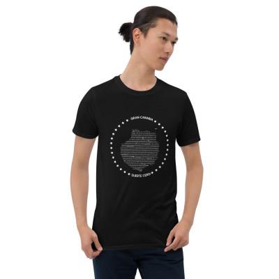 Camiseta manga corta unisex - GRAN CANARIA WHITE / SUERTE CERO
