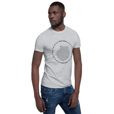 Camiseta manga corta unisex - GRAN CANARIA BLACK / SUERTE CERO