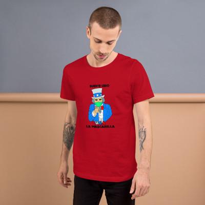 Camiseta manga corta - U.S.A Colors / SUERTE CERO