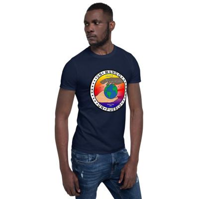 Camiseta manga corta - Un mundo, un Pueblo / SUERTE CERO