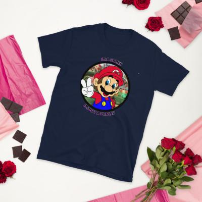 Camiseta manga corta unisex - Mario / SUERTE CERO