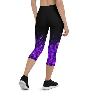 Leggings capri Purple / SUERTECERO