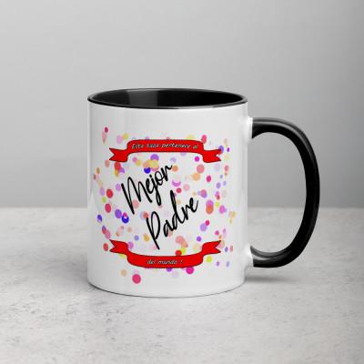 Taza color - Mejor padre