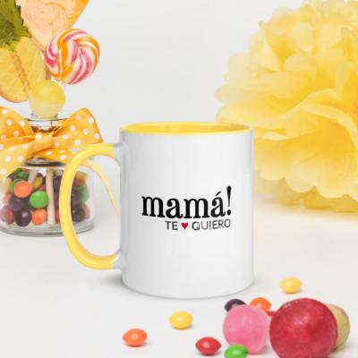 Taza color - Mamá! te quiero / SUERTE CERO