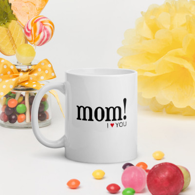 Taza - Mom! i love you / SUERTE CERO