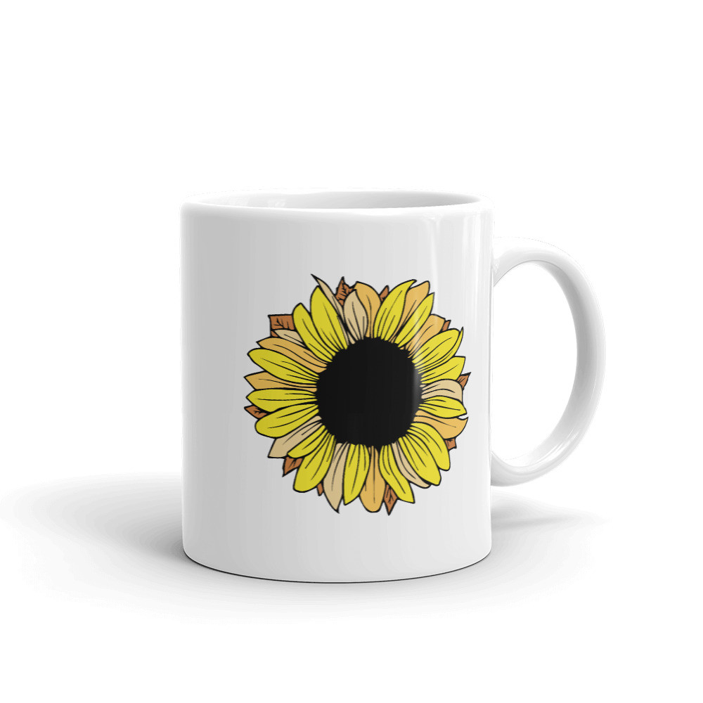 Sunflower • Coffee Mug