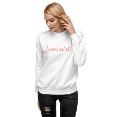 Feminist • Unisex Fleece Pullover