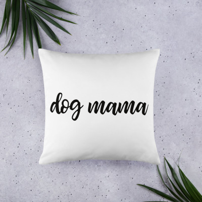 Dog Momma • Throw Pillow