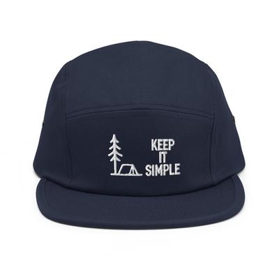 Keep It Simple Five Panel Cap