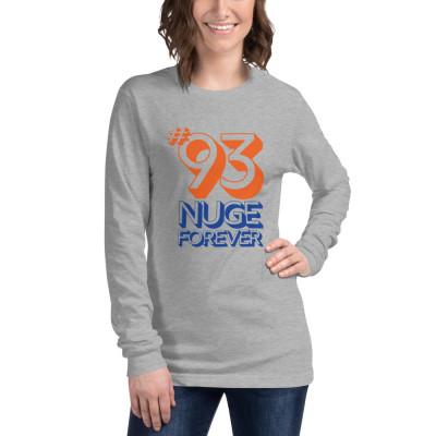 Unisex Long Sleeve Tee: #93 Nuge Forever