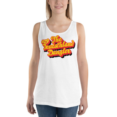 Unisex Tank Top: #29 The Deutschland Dangler