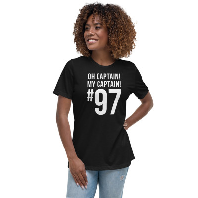 Women's Relaxed T-Shirt: Oh Captain! My Captain! #97