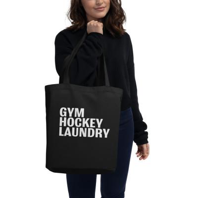 Eco Tote Bag: Gym, Hockey, Laundry