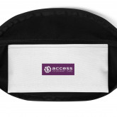 Fanny Pack - White and Purple
