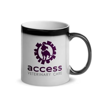 Glossy Magic Mug - AVC and Logo