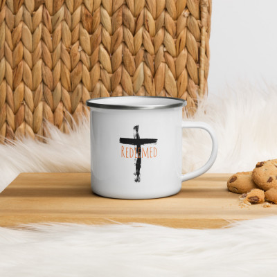 Redeemed Enamel Mug