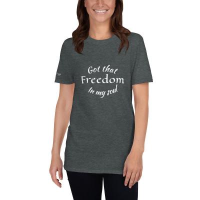 Freedom Short-Sleeve Unisex Classic T-Shirt