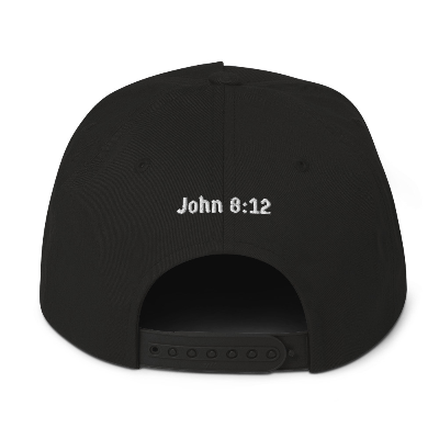 Walk With Jesus Unisex Flat Bill Cap