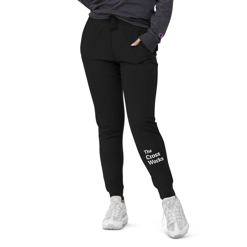 The Cross Works Unisex slim fit joggers