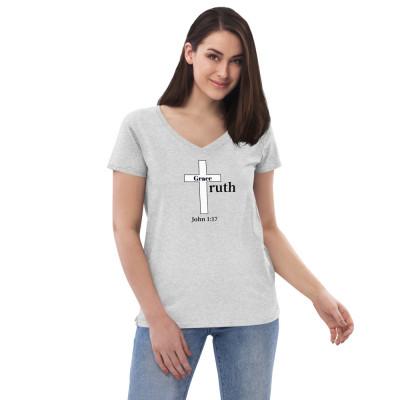 Grace & Truth Women's V-neck T-Shirt