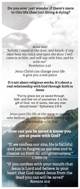 Evangelism Door Hanger