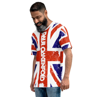 Paul Oakenfold - Aged Union Jack - All-Over Print Unisex T-shirt
