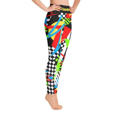 Paul Oakenfold - Pop Art Abstract Yoga Leggings
