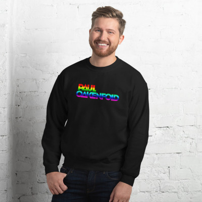 Paul Oakenfold - Rainbow Horizontal Logo - Unisex Sweatshirt