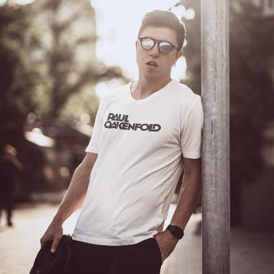 Oakenfold Unisex Short Sleeve V-Neck T-Shirt