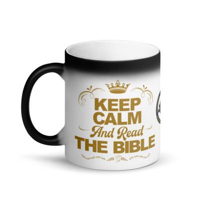 Yah-U Bible-Based Gold Accent Mug (Free Shipping in USA)