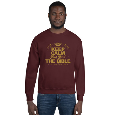 Bible-Based Gold Accent Unisex Sweatshirt (Free Shipping in USA)