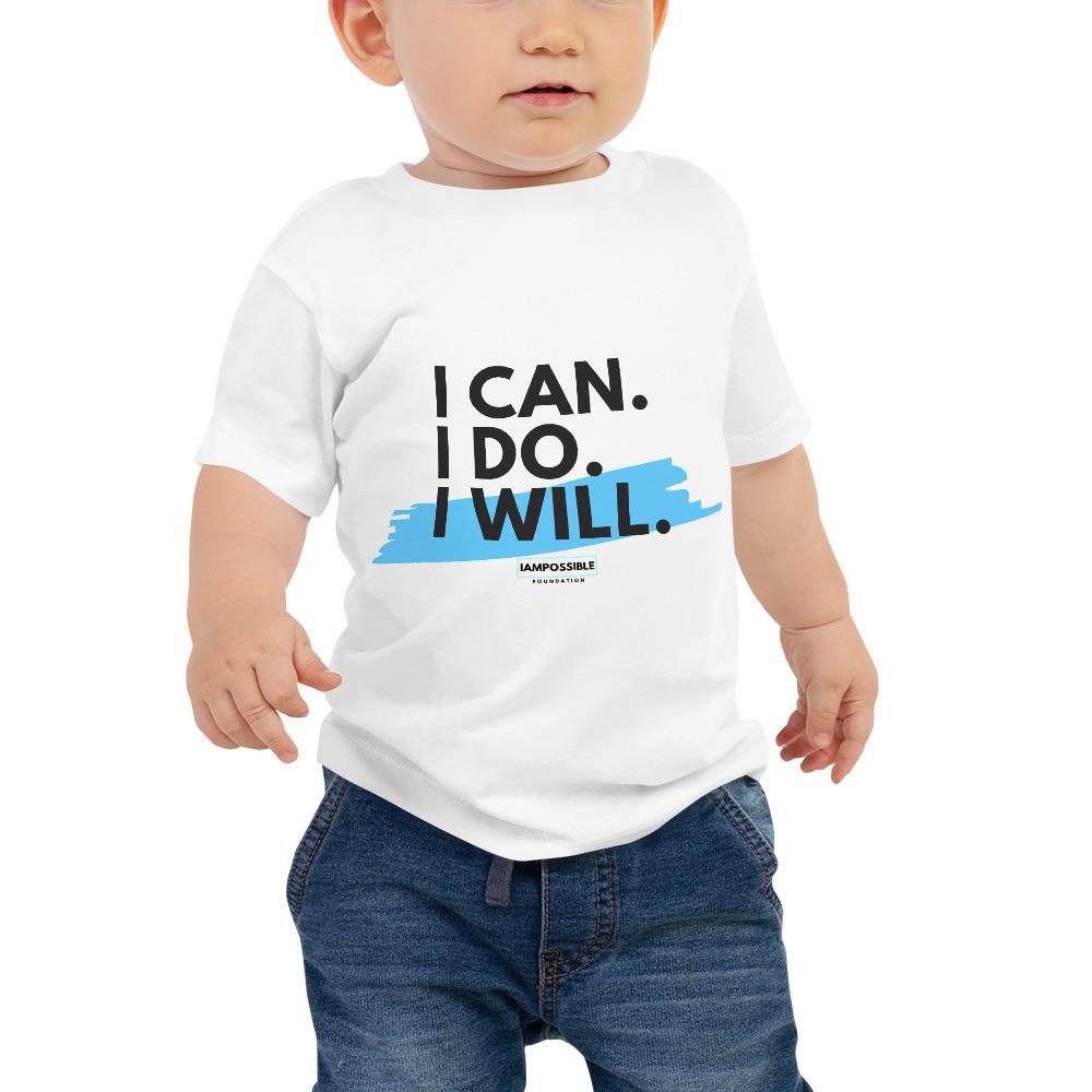 I Can. I Do. I Will. Baby Jersey Short Sleeve Tee