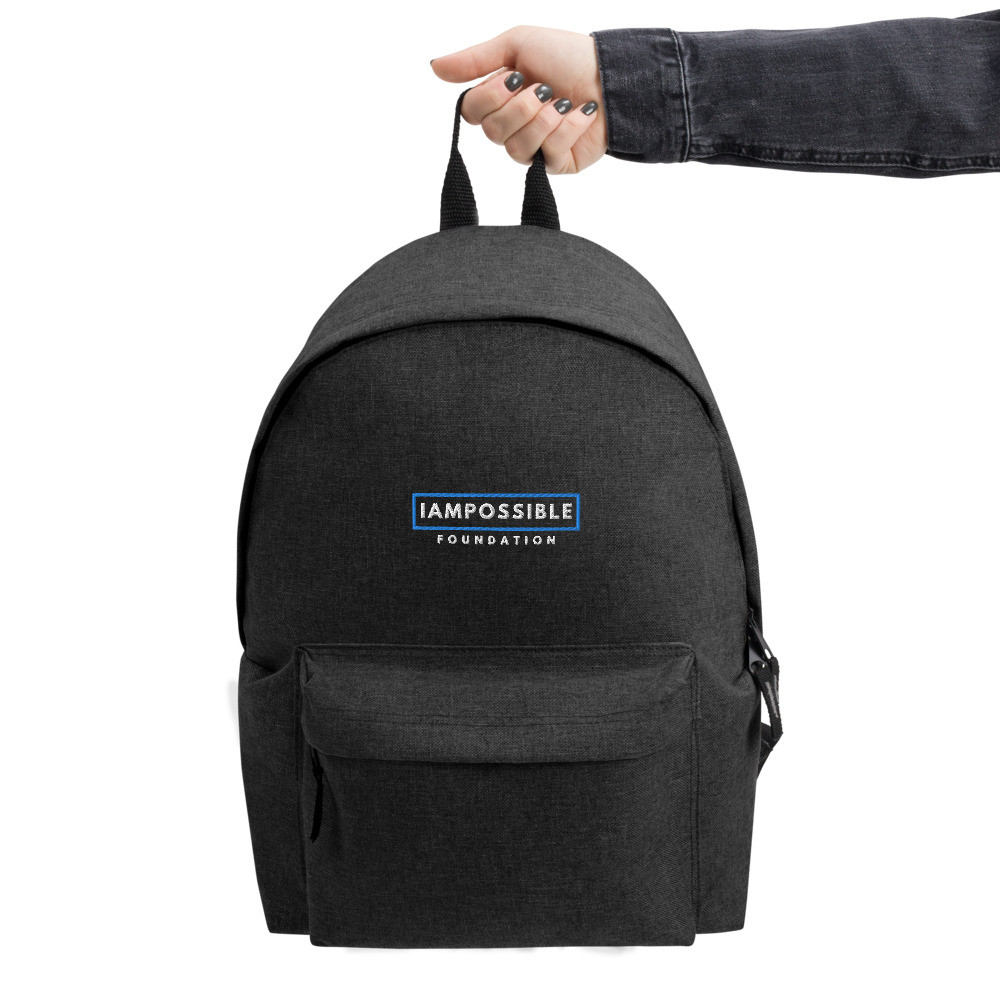 IAP Embroidered Backpack