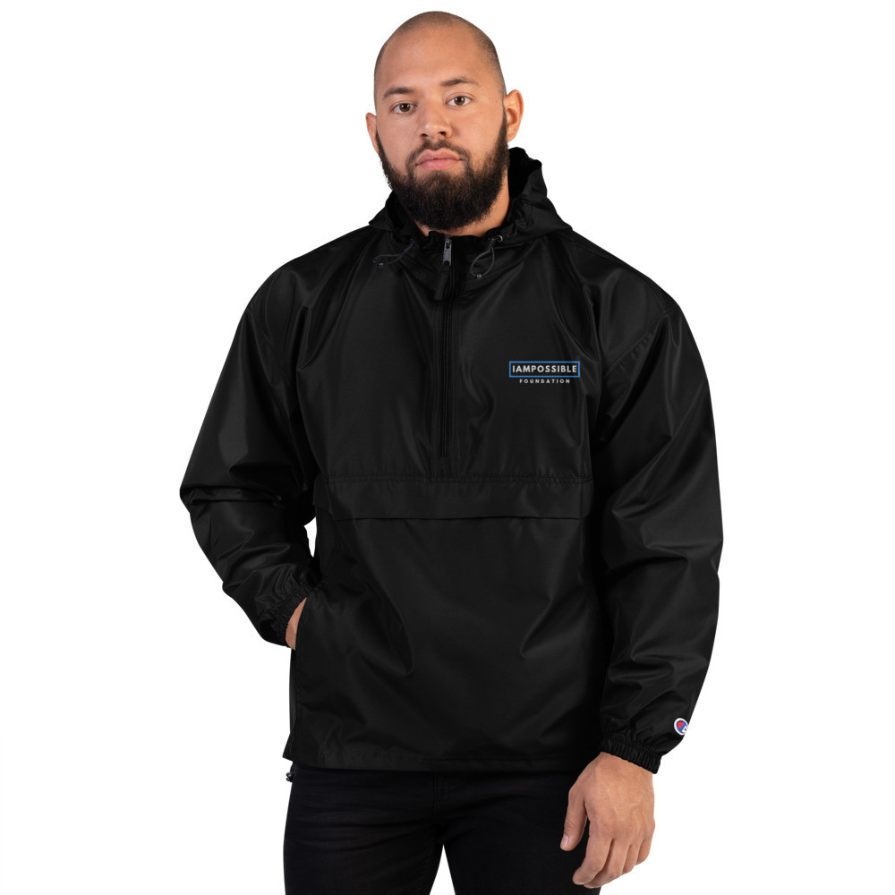 IAP Embroidered Mens Champion Packable Jacket