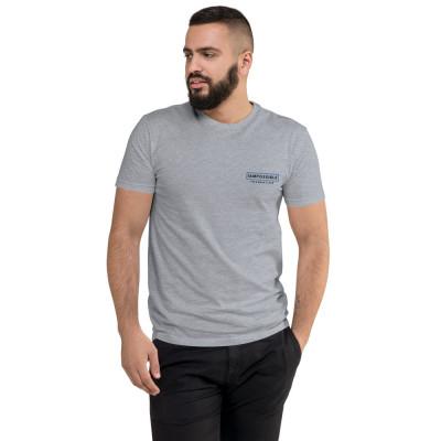 IAP Men's Fitted T-Shirt - Logo Dark