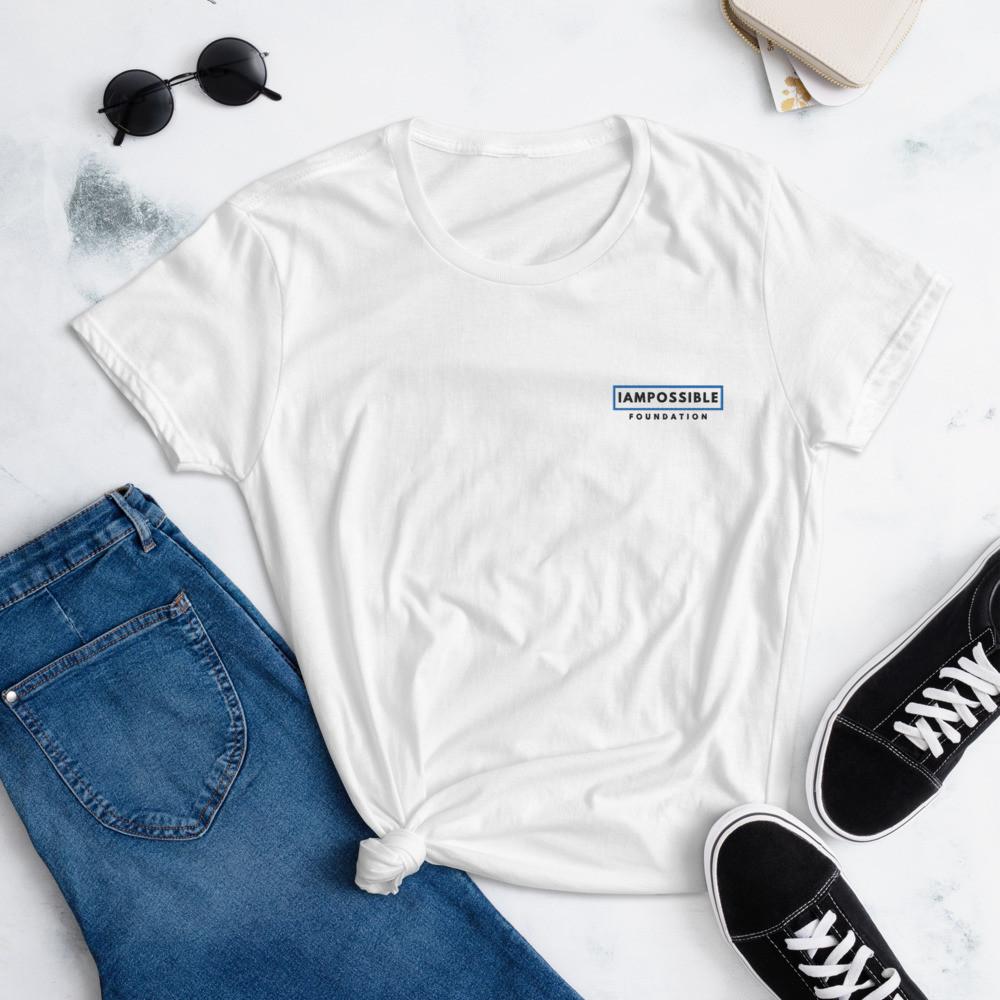 IAP Women's short sleeve t-shirt - Logo Dark