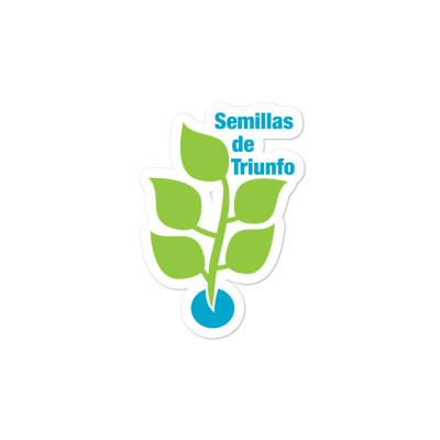 Semillas Bubble-free stickers