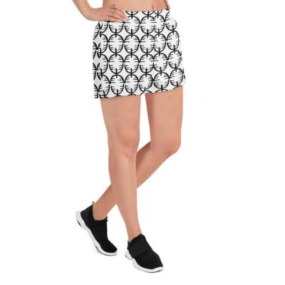 CienciaPR Women's Athletic Short Shorts