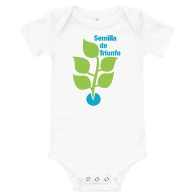 Semillas Baby short sleeve one piece