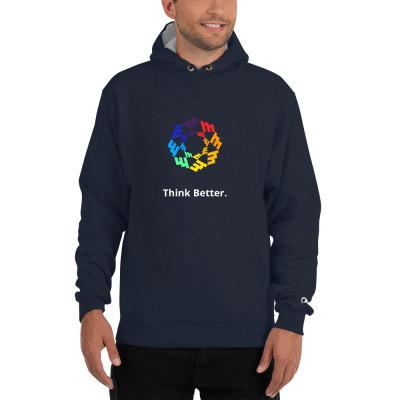 Think Better Mandala Champion Hoodie