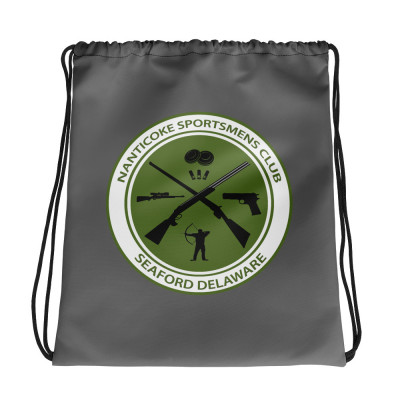 Drawstring bag - Green Logo