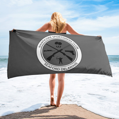 Beach Towel - Grey