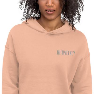 HIITWEEKLY Crop Hoodie