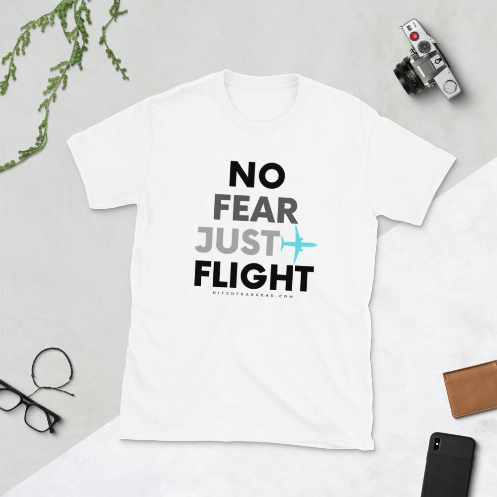 """""""JUST FLIGHT"""" Unisex Tee (lght)"""