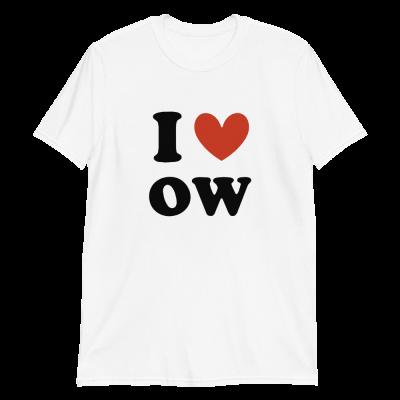I ❤ oW Short-Sleeve Unisex T-Shirt