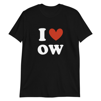I ❤ oW Short-Sleeve Unisex T-Shirt